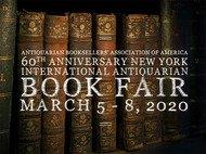 60th New York International Antiquarian Book Fair